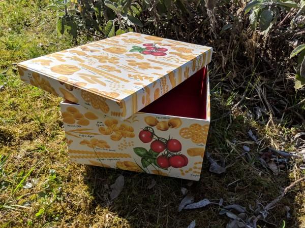 Handgefertigte Italien-Geschenkschachtel