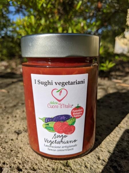 Nudel-Sauce mit Gemüse - Sugo Vegetariano