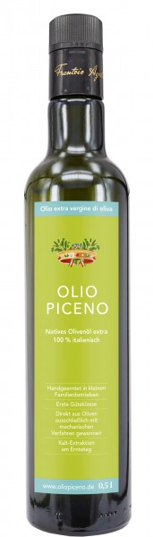 Olivenöl extra vergine - Halbliter-Flasche
