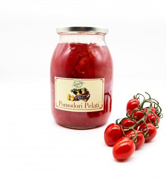 Pomodori Pelati, geschälte Tomaten im Glas
