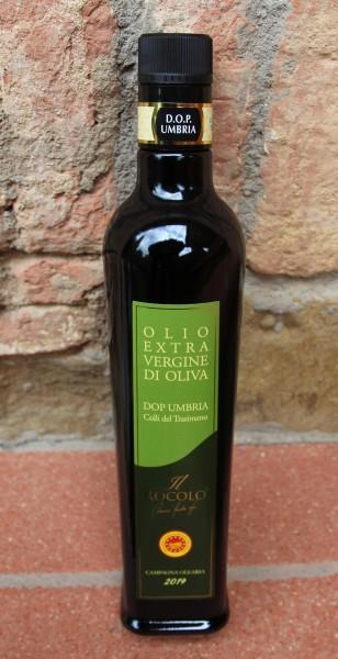 Olivenöl extra vergine aus Umbrien, Ernte Okt. 2019